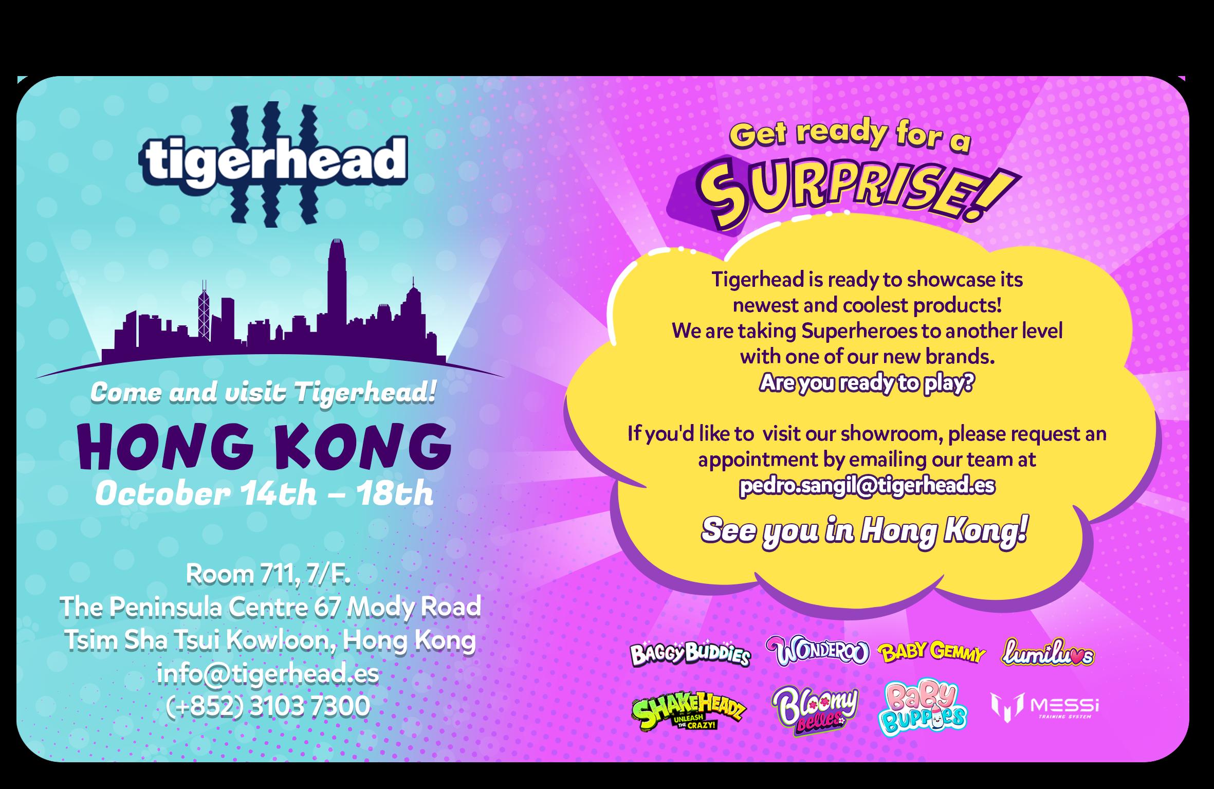 tigerhead toys trade fair hongkong 2019